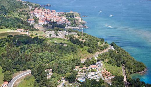 Portuondo y Mundaka, vista aérea